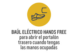 Baul electrico hands free